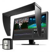 EIZO(エイゾー) ColorEdge 27型カラーマネージメント液晶モニター CS2740-X + CH2700遮光フード + i1 Display Pro Plusセット