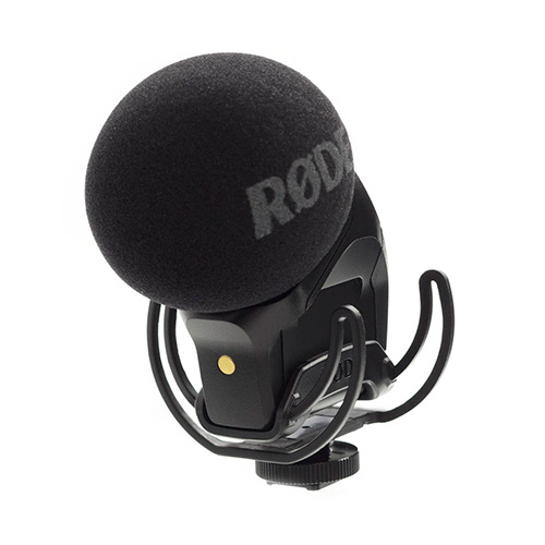 RODE(ロード) Stereo VideoMic Pro Rycote ステレオコンデンサーマイク 【アルカリ乾電池2本付】