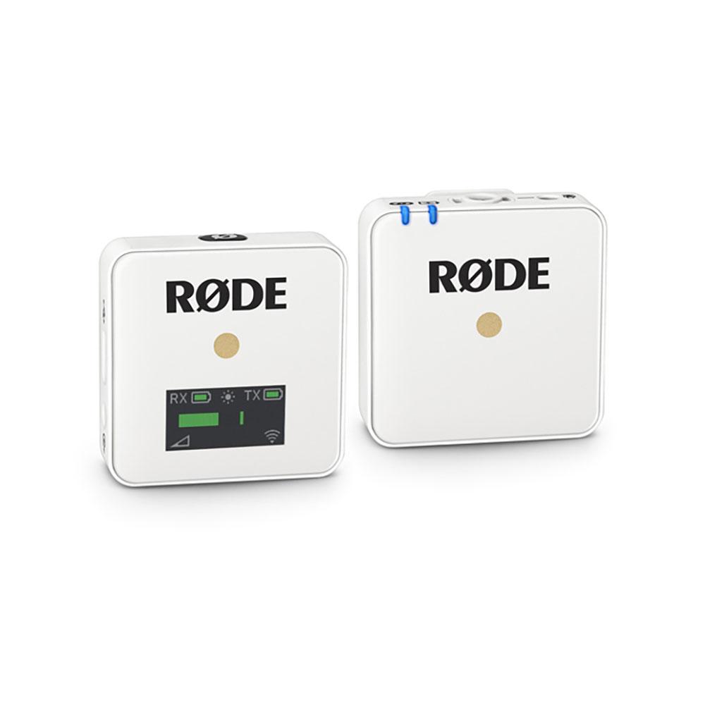 RODE(ロード) Wireless GO ワイヤレス送受信機マイクシステム ホワイト