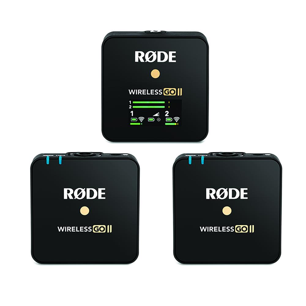 RODE(ロード) Wireless GO II  ワイヤレス送受信機マイクシステム