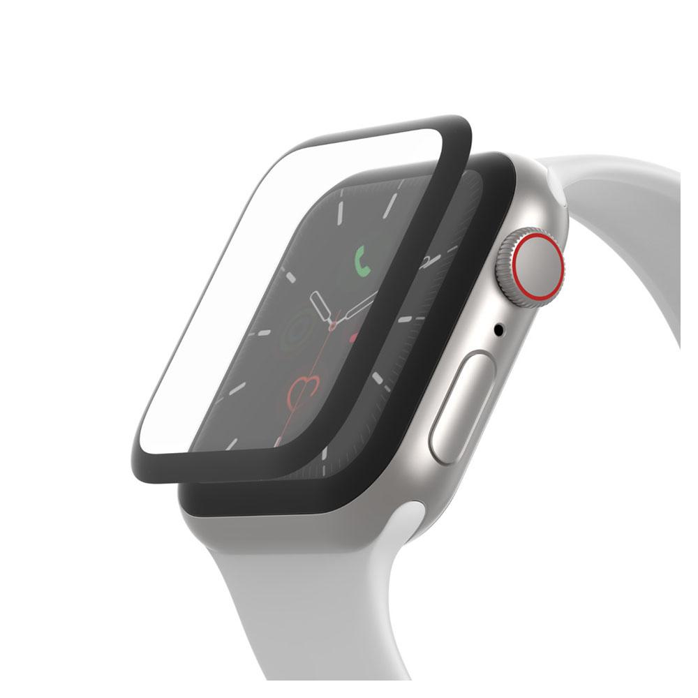 belkin(ベルキン) SCREENFORCE TrueClear Curve Apple Watch用画面保護シール OVG002ZZBLK
