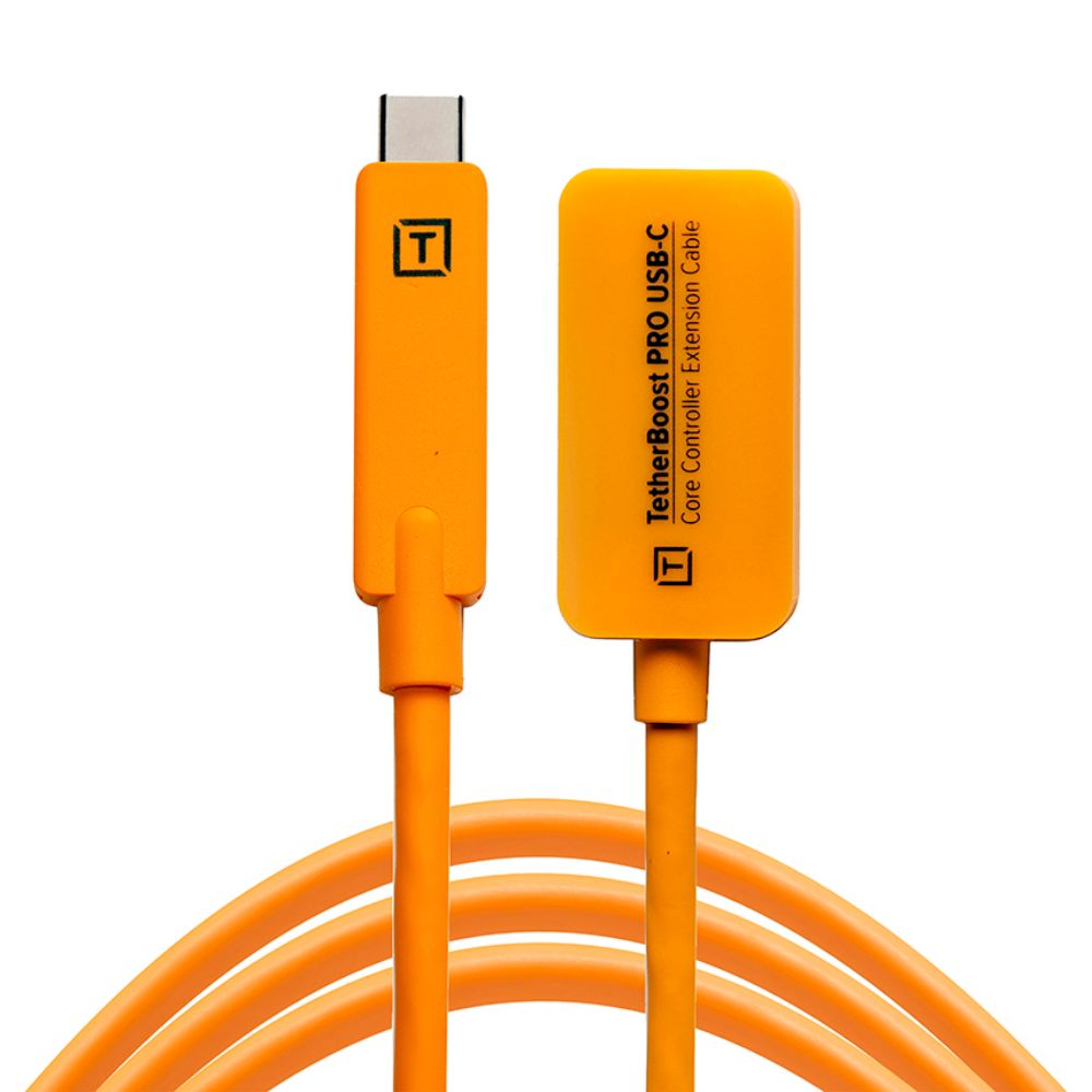 TETHER TOOLS(テザーツールズ) TetherBoost Pro USB-C Core Controller Extension Cableオレンジ