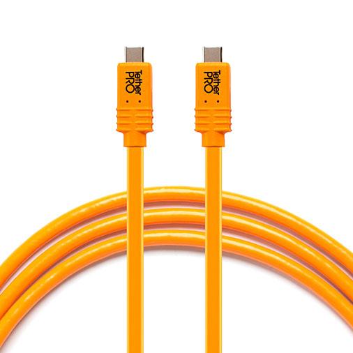 TETHER TOOLS(テザーツールズ) TetherPro USB-C to USB-C フォー フェーズ ワン オレンジ(4.6m) CUCP15-ORG