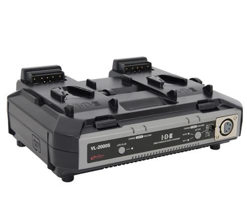IDX(アイ・ディー・エクス) VL-2000S ACアダプター機能付2ch同時急速充電器