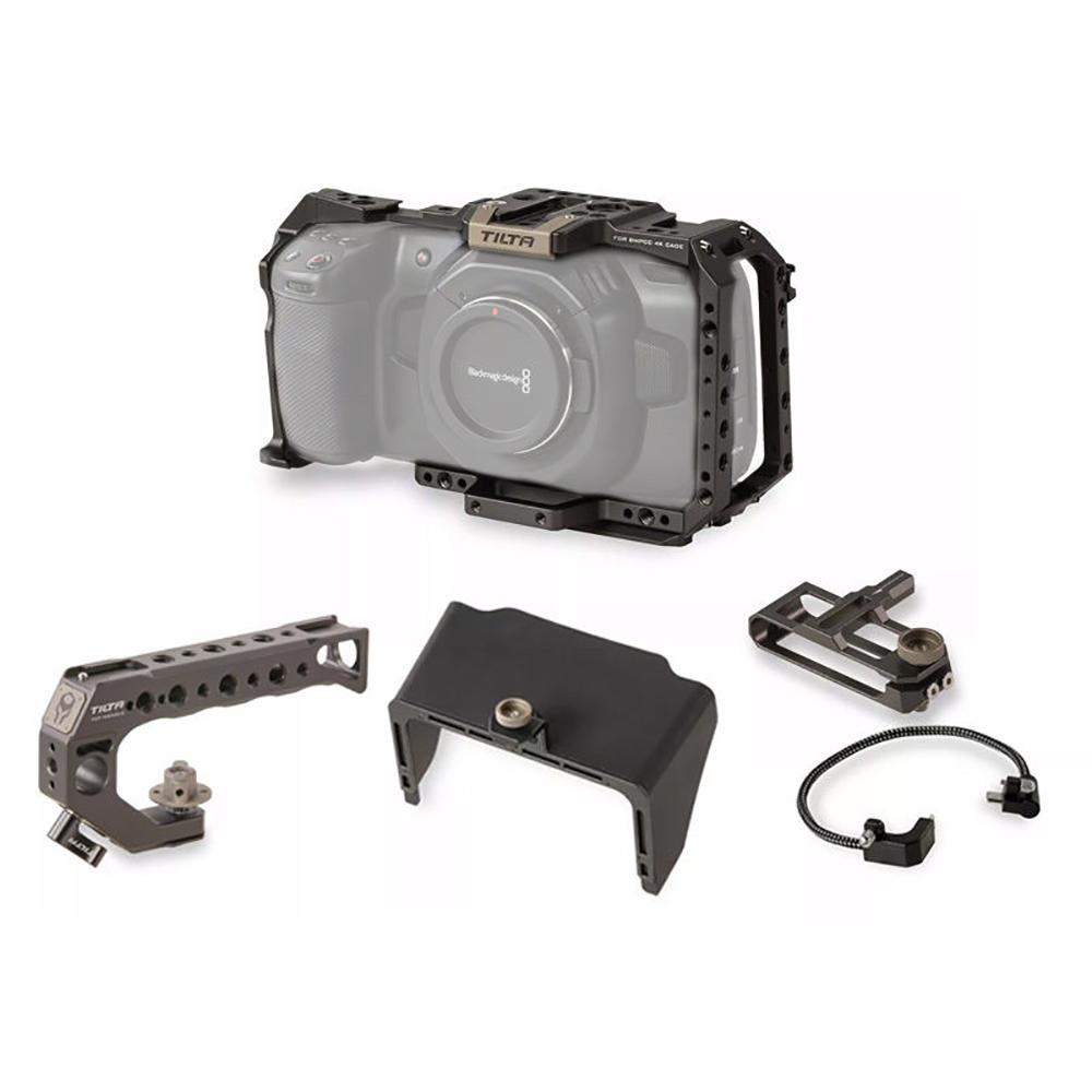 TILTA(ティルタ) ①基本形Camera Cage for BMPCC 4K TA-T01-SZK01