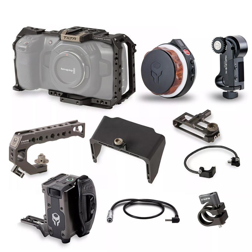 TILTA(ティルタ) ③ミニマムシネ運用Camera Cage for BMPCC 4K + Nuc TA-T01-SZK03