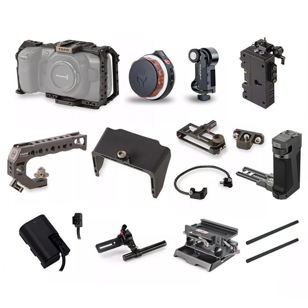 TILTA(ティルタ) ④シネ運用Camera Cage for BMPCC 4K TA-T01-SZK04