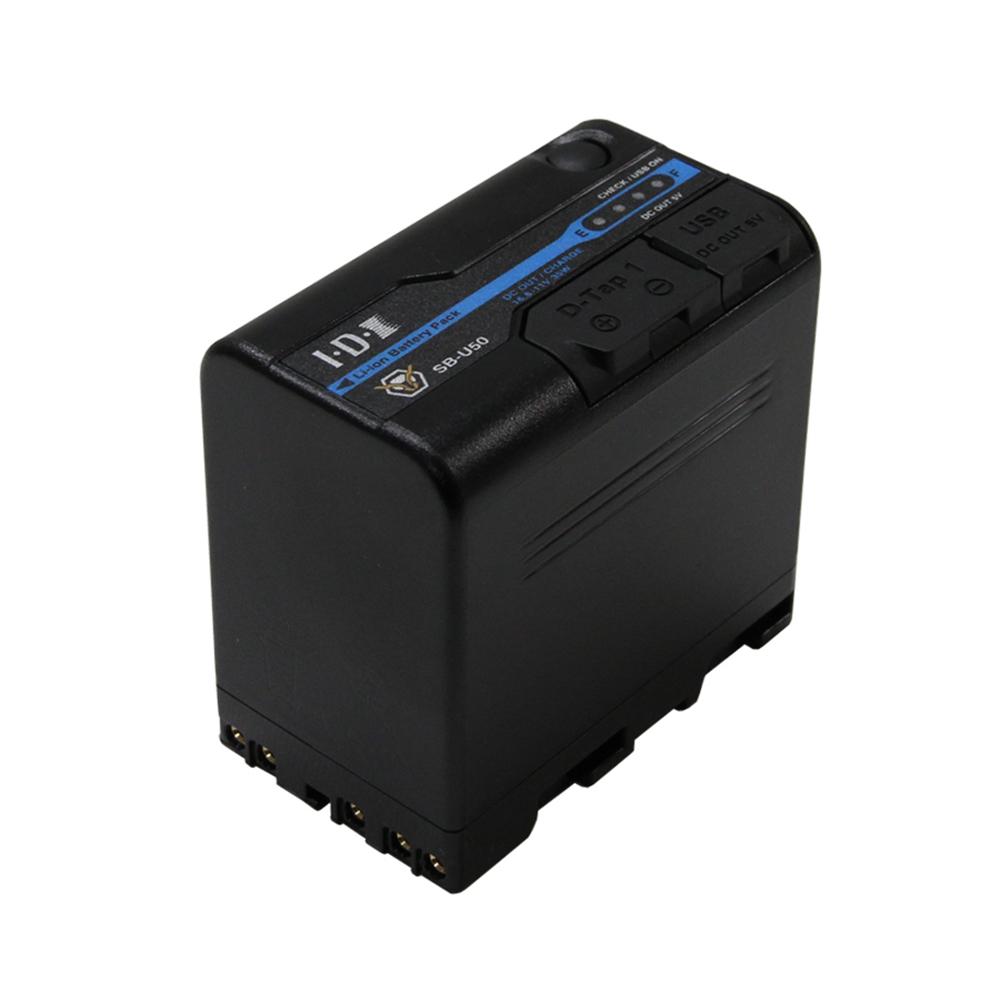 IDX(アイ・ディー・エクス) SB-U50 SONY BP-U 14.4Vタイプリチウムイオンバッテリー 48Wh(14.4V/3.3Ah)