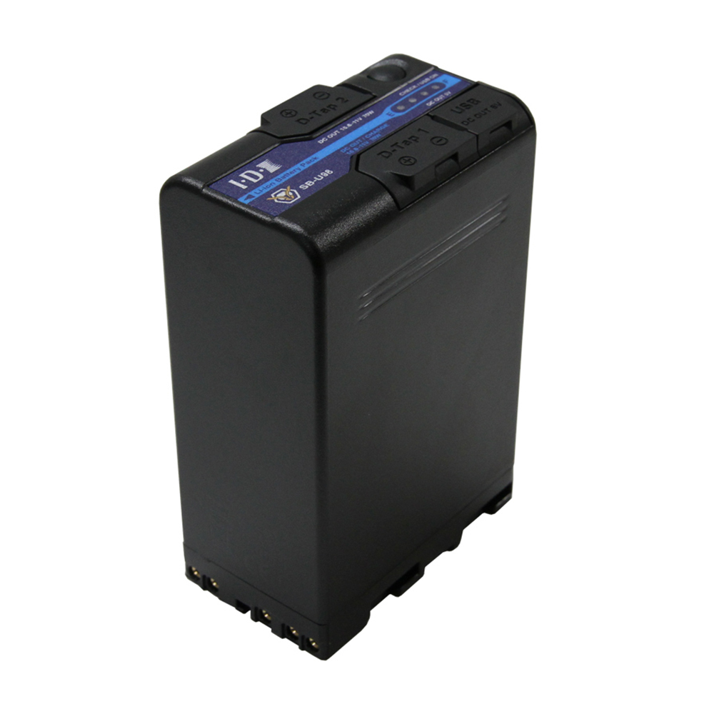 IDX(アイ・ディー・エクス) SB-U98 SONY BP-U 14.4Vタイプリチウムイオンバッテリー 96Wh(14.4V/6.6Ah)