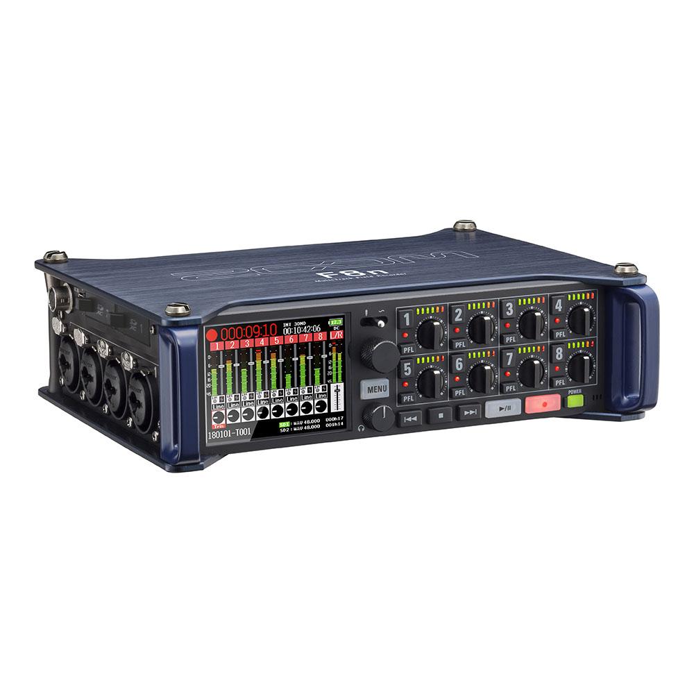 ZOOM(ズーム)F8Nフィールドレコーダー