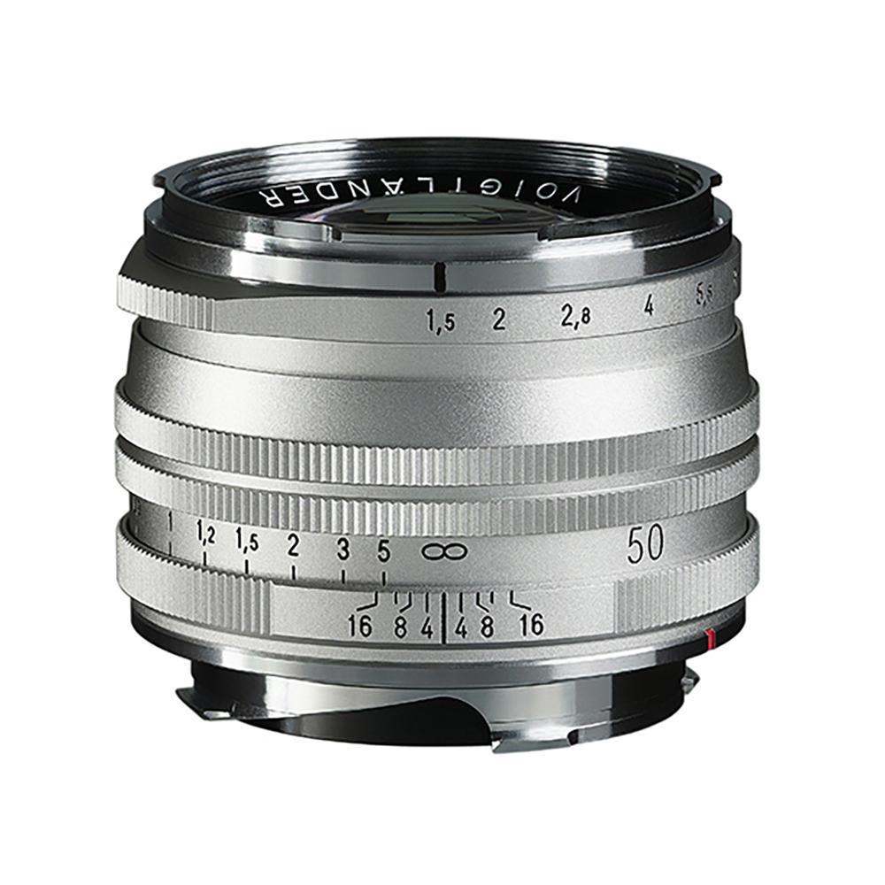 VoightLander(フォクトレンダー) NOKTON Vintage Line 50mm F1.5 AsphericalⅡ Silver MC