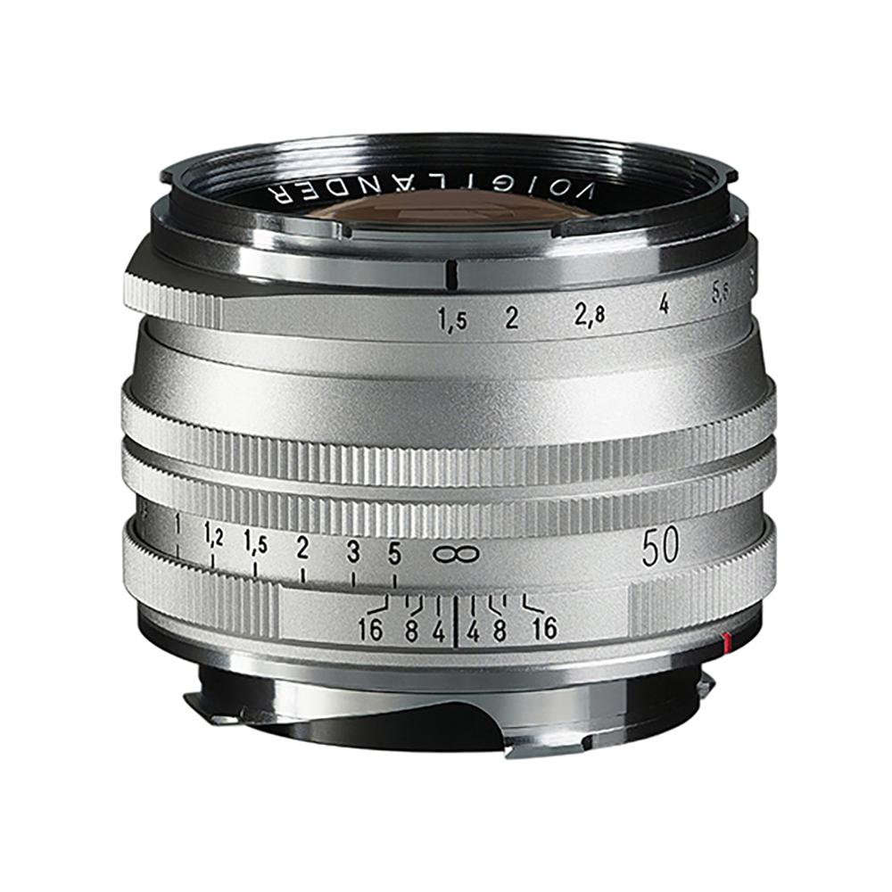 VoightLander(フォクトレンダー) NOKTON Vintage Line 50mm F1.5 AsphericalⅡ Silver SC