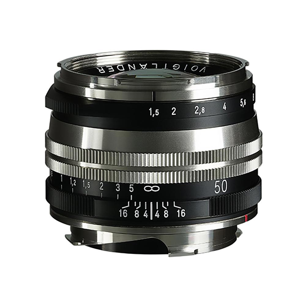 VoightLander(フォクトレンダー) NOKTON Vintage Line 50mm F1.5 AsphericalⅡ Nickel・Blackpaint MC