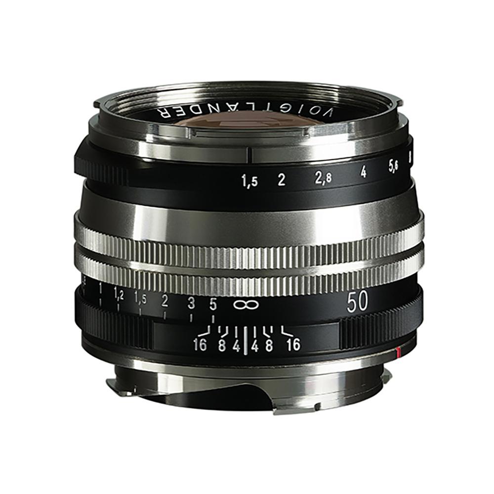 VoightLander(フォクトレンダー) NOKTON Vintage Line 50mm F1.5 AsphericalⅡ Nickel・Blackpaint SC