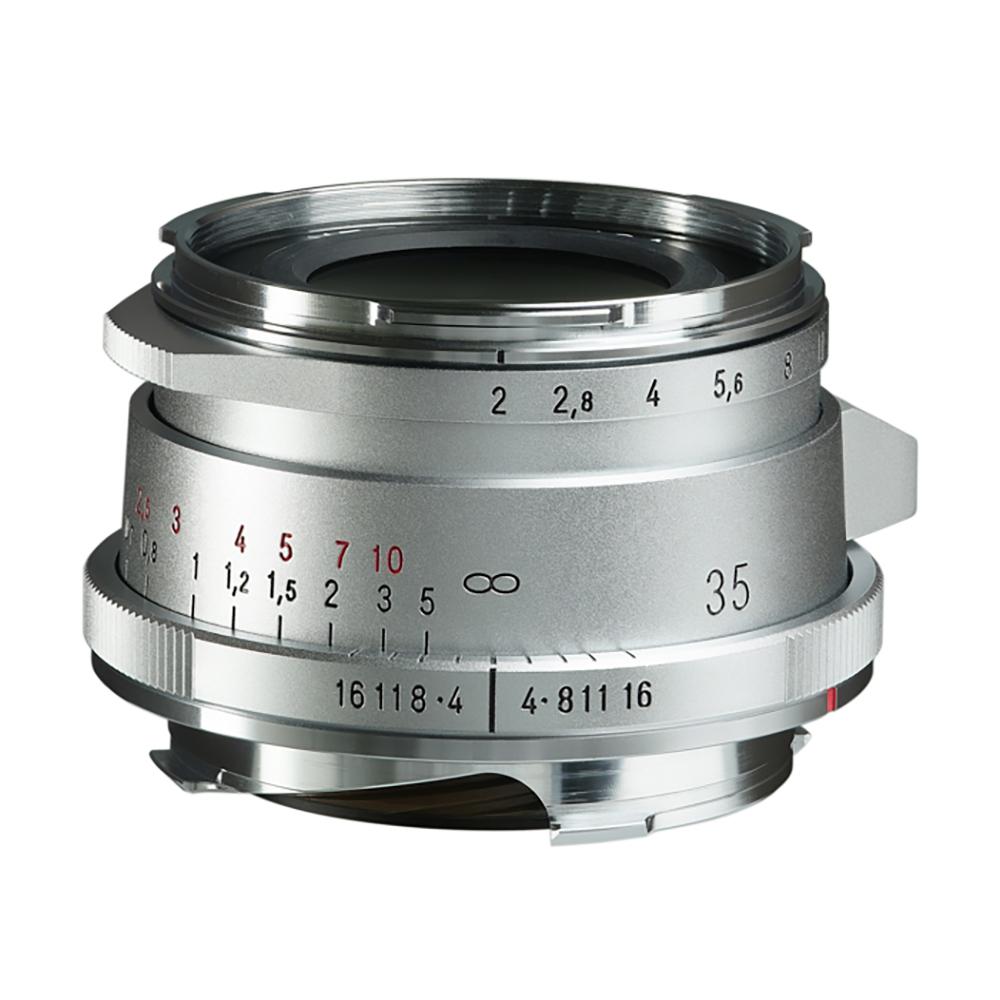 VoightLander(フォクトレンダー) ULTRON Vintage Line 35mm F2 Aspherical TypeII VMマウント シルバー