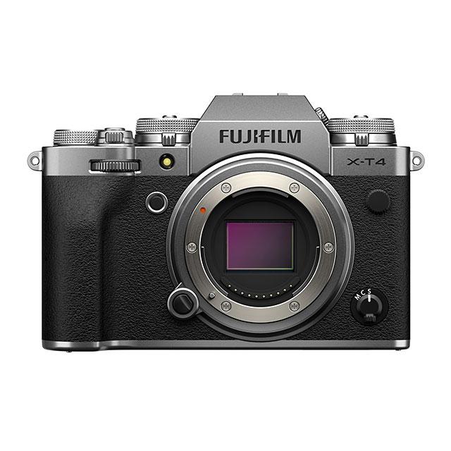 FUJIFILM(富士フイルム) X-T4ミラーレスデジタルカメラ ボディ シルバー X-T4-S