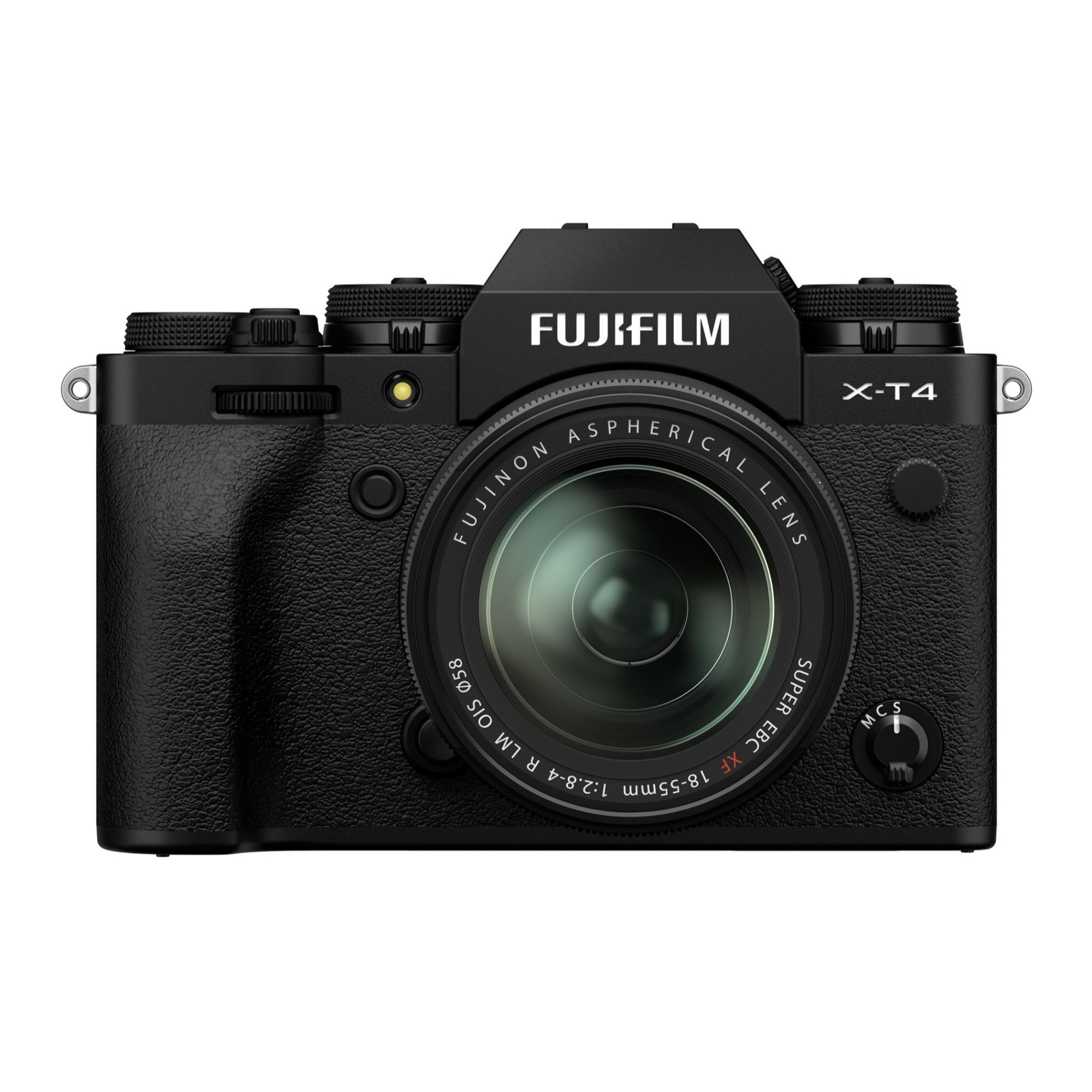 FUJIFILM(富士フイルム) X-T4 XF16-80mmF4 R OIS WR デジタルカメラ レンズキット X-T4LK-1680-B