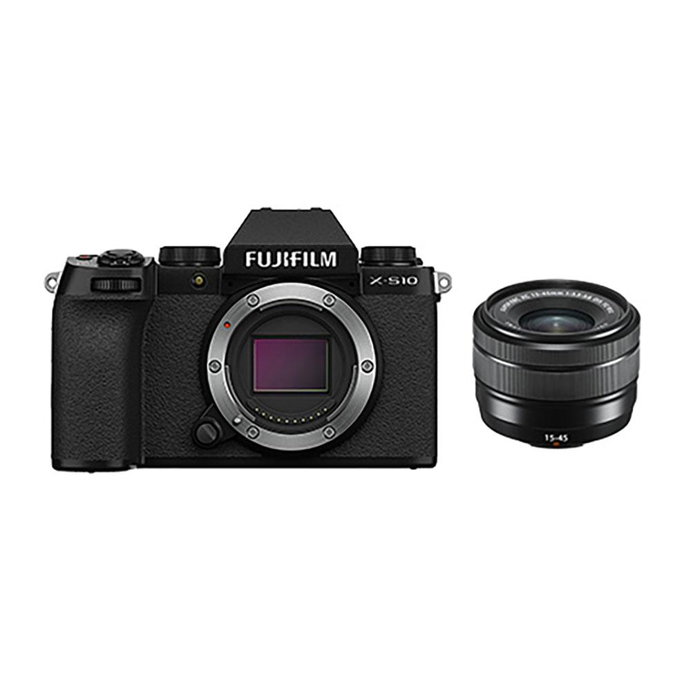 FUJIFILM(富士フイルム) デジタルカメラ レンズキット(XC15-45mm3.5-5.6 OIS PZ) X-S10LK-1545