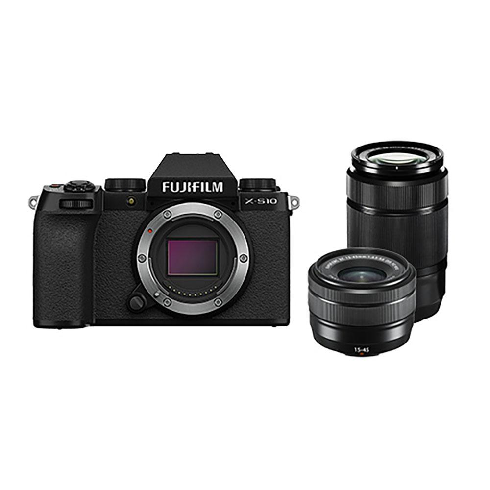 FUJIFILM(富士フイルム) デジタルカメラ ダブルズームレンズキット(XC15-45mm3.5-5.6 OIS PZ & XC50-230mmF4.5-6.7 OIS II) X-S10LK-1545/50230