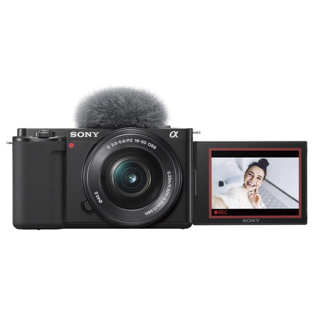SONY(ソニー) VLOGCAM ZV-E10L デジタル一眼カメラパワーズームレンズキット ブラック