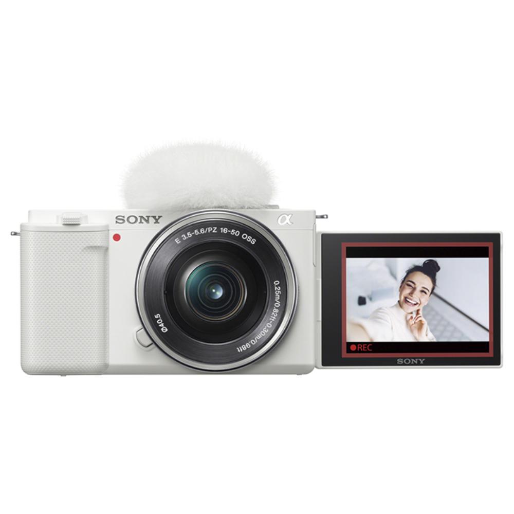 SONY(ソニー) VLOGCAM ZV-E10L デジタル一眼カメラパワーズームレンズキット ホワイト
