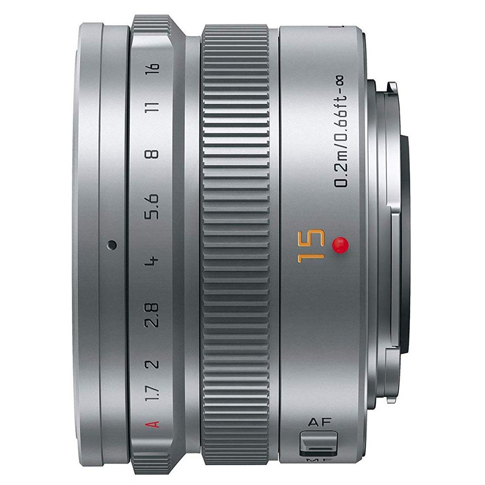 Panasonic(パナソニック)LEICA DG SUMMILUX 15mm / F1.7 ASPH.(シルバー)