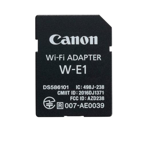 Canon(キヤノン) Wi-Fiアダプター W-E1