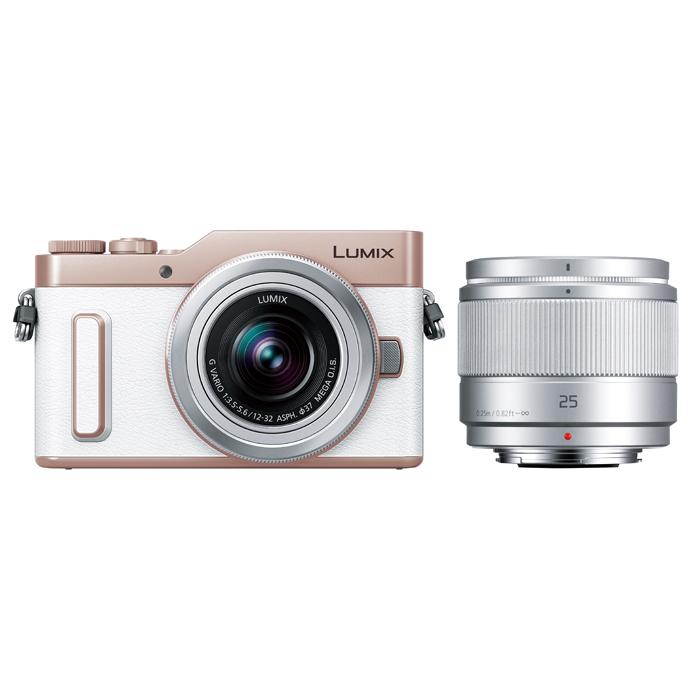 Panasonic(パナソニック) LUMIX デジタル一眼カメラ ダブルレンズキット ホワイト/DC-GF10W-W