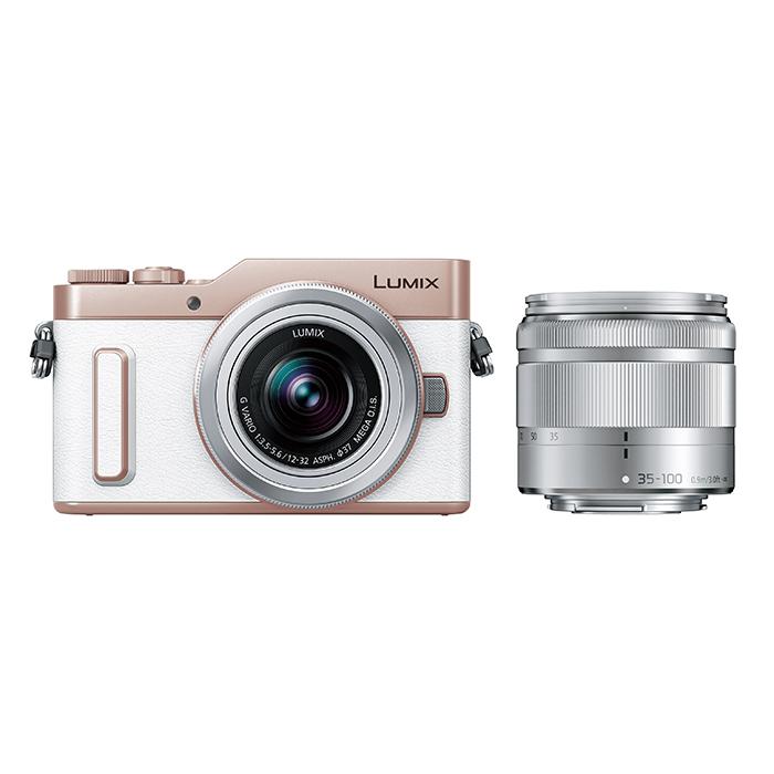 Panasonic(パナソニック) LUMIX デジタル一眼カメラ ホワイト レンズキット/DC-GF10WA-W
