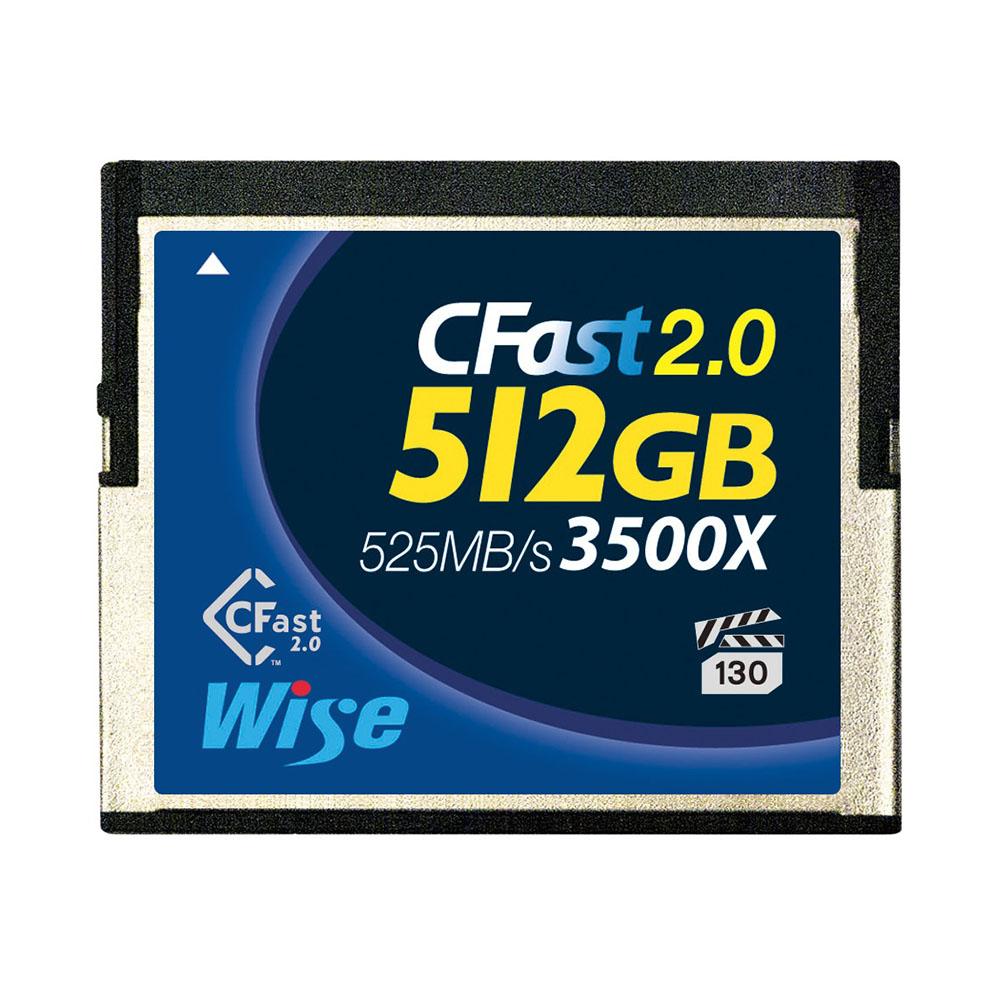 AMULET(アミュレット) Wise CFast 2.0 メモリーカード 512GB AMU-WA-CFA-5120