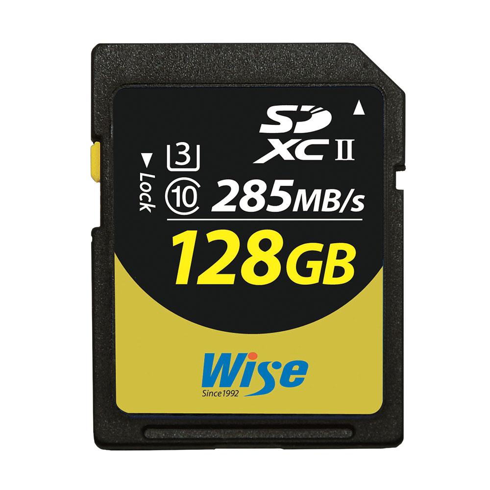 AMULET(アミュレット) Wise SDXC UHS-IIメモリーカード 128GB AMU-SD2-128U3