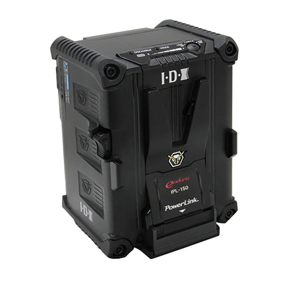 IDX(アイ・ディー・エクス)IPL-150 143Wh(14.4V/9.9Ah) Vマウントタイプリチウムイオンバッテリー