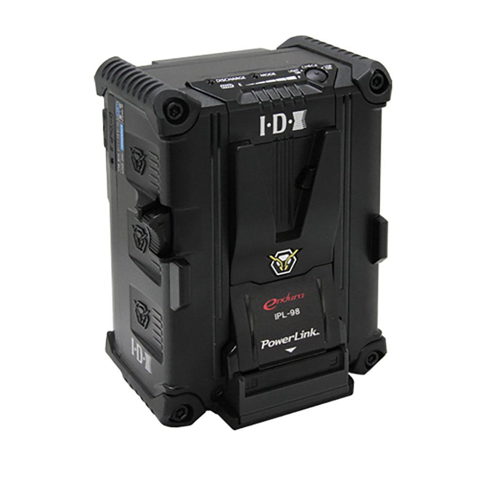 IDX(アイ・ディー・エクス)IPL-98 96Wh(14.4V/6.6Ah)Vマウントタイプリチウムイオンバッテリー