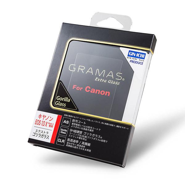 GRAMAS(グラマス) Extra Gorilla Glass DCG-CA07 (CANON 1DXMkII用)