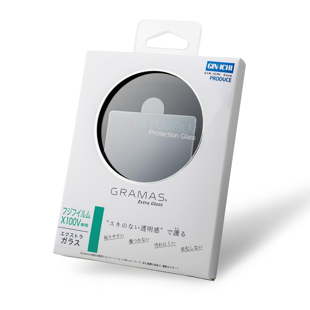 GRAMAS(グラマス) Extra Camera Glass DCG-FJ06 (FUJIFILM X100V用)