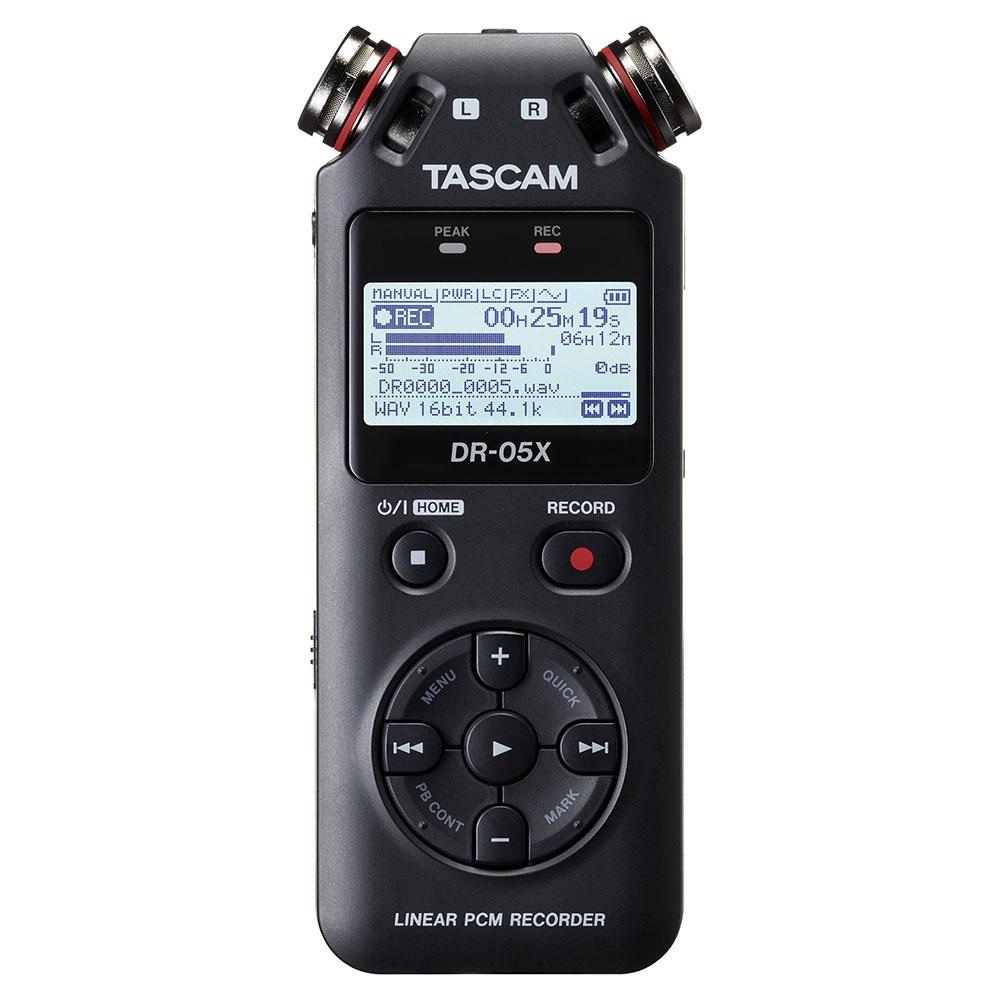 TASCAM(タスカム)DR-05X USB オーディオインターフェース搭載PCMレコーダー(SDカード別売)