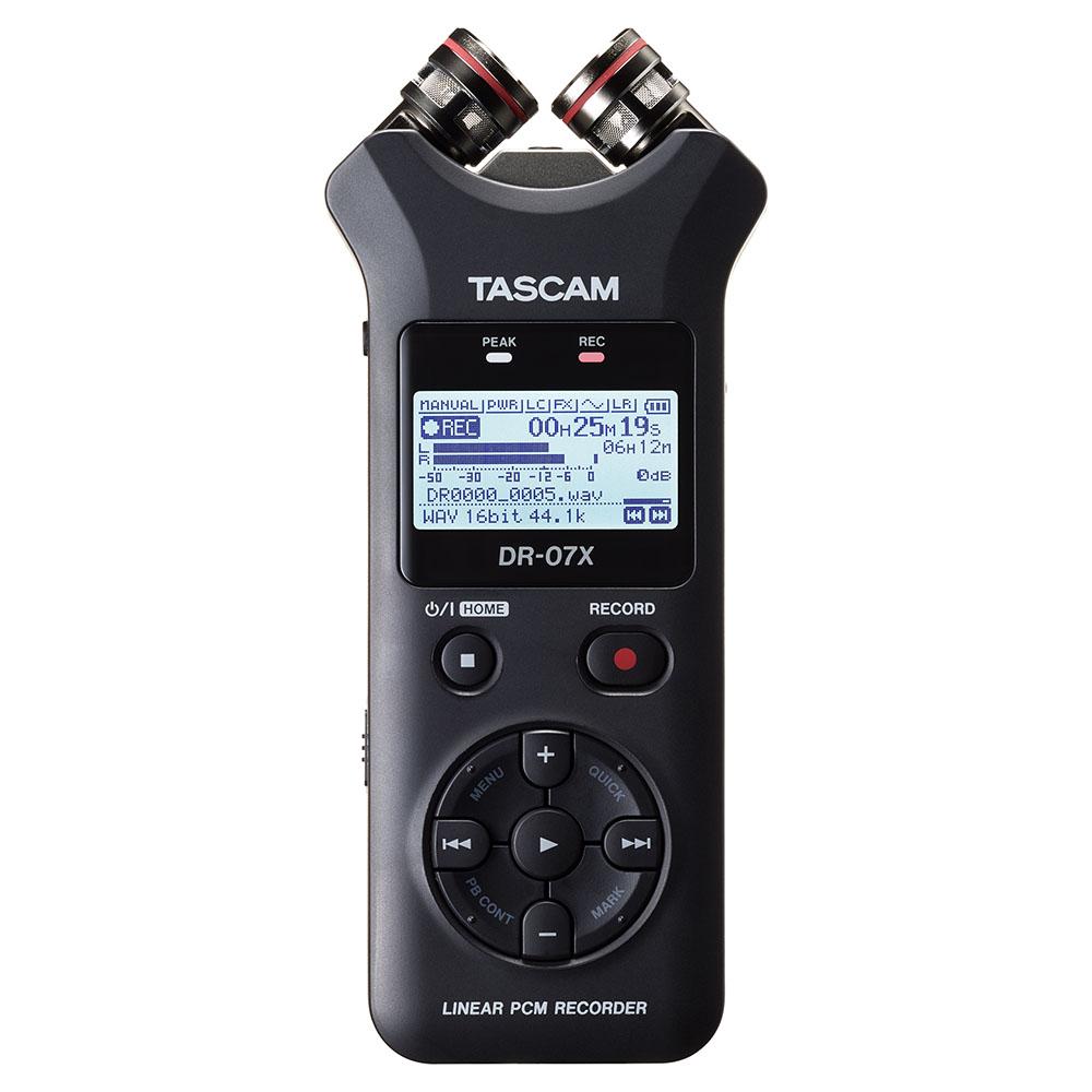 TASCAM(タスカム)DR-07X USB オーディオインターフェース搭載PCMレコーダー(SDカード別売)