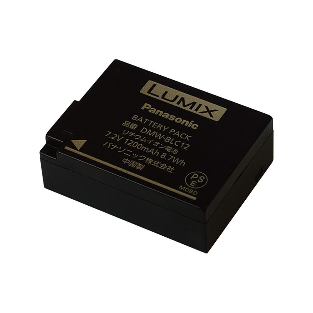 Panasonic(パナソニック)DMW-BLC12 バッテリーパック リチウムイオン電池