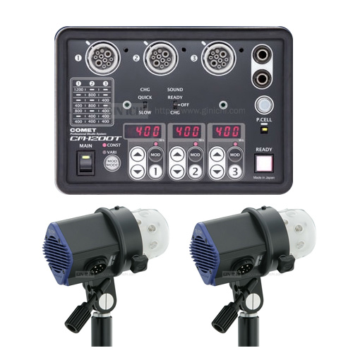 COMET(コメット) CM-1200T セット(CB25ヘッド2灯付) 【数量限定特価!】