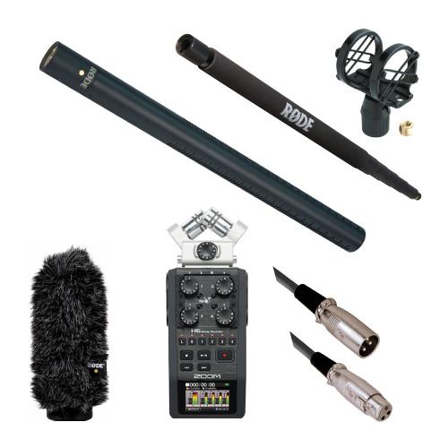RODE(ロード) NTG3Bセット 【WS7+SM4+ブームポール+H6レコーダー+ケーブルセット】