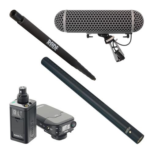 RODE(ロード) NTG3Bキット 【BOOM POLE + Blimp + Newsshooter Kit】 ポイント5倍!