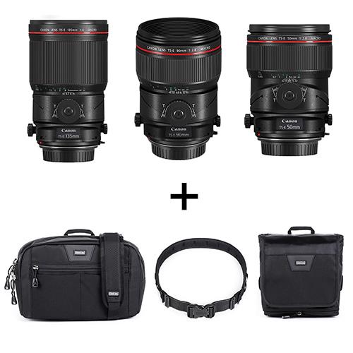 Canon(キヤノン) TS-Eレンズ(50mm/90mm/135mm)+ベルトポーチセット