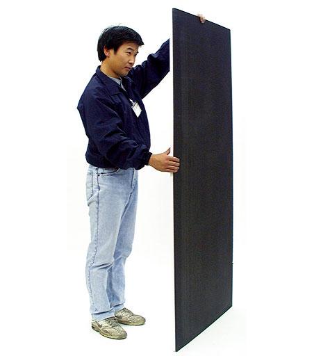 白黒カポック 3x6判(900X1800mm) 発泡ボード
